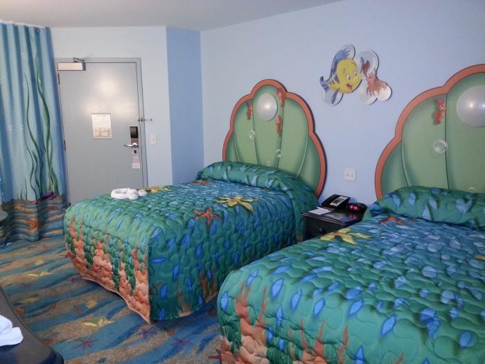 Standard room at The Little Mermaid