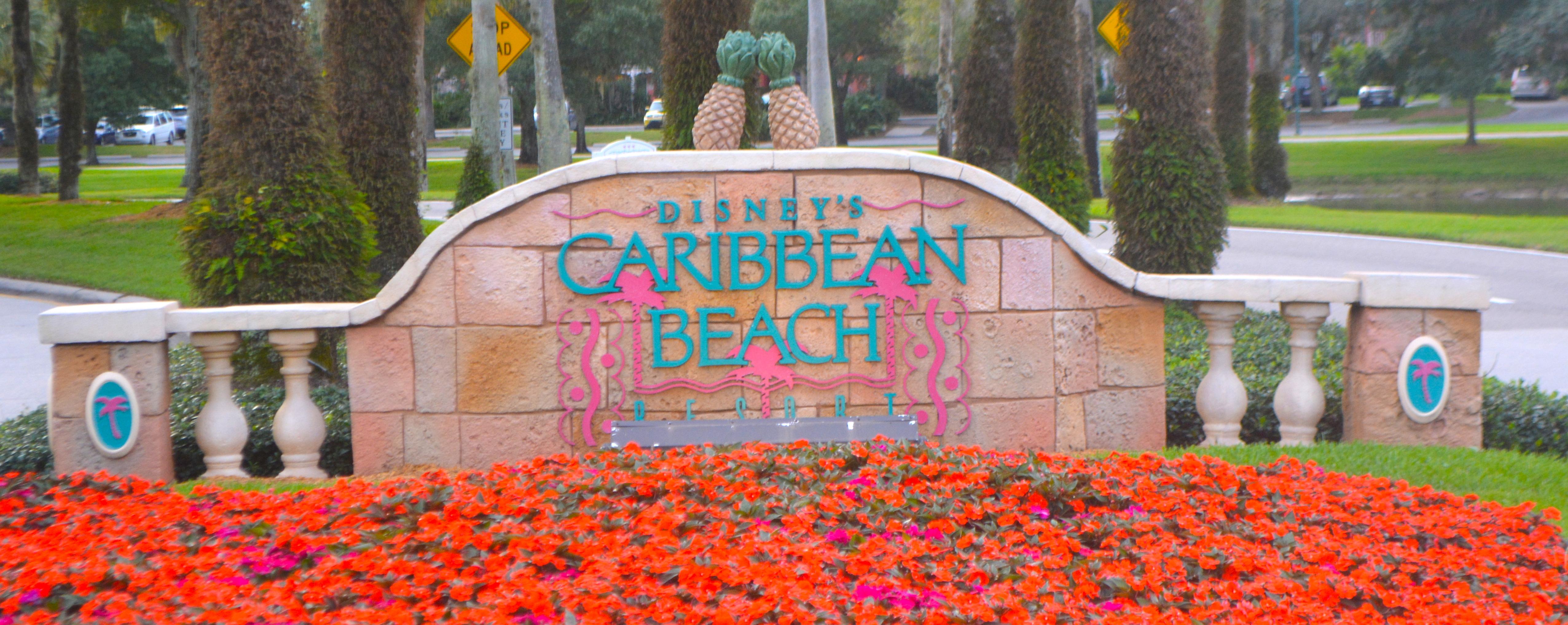 Resort Disneys Caribbean Beach CARIBBEANBEACH LOGO