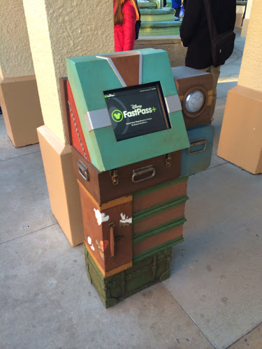 Make additional FastPass+ selections, or make changes, at these kiosks throughout the parks