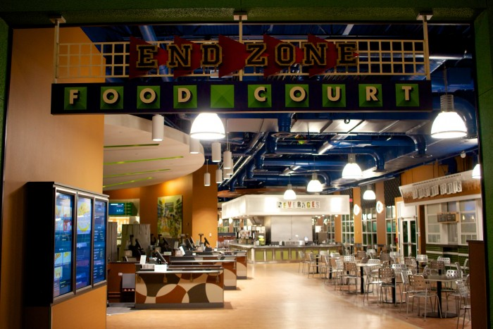 All Star Sports food court - photo by Brian McNichols