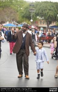 Spring 2015 Dapper Day events at the Disneyland Resort