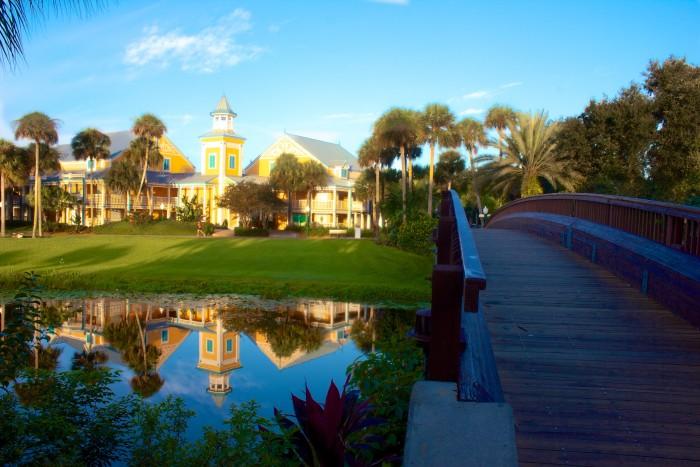 Caribbean Beach grounds