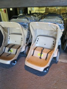 Typical Disney World double rental stroller