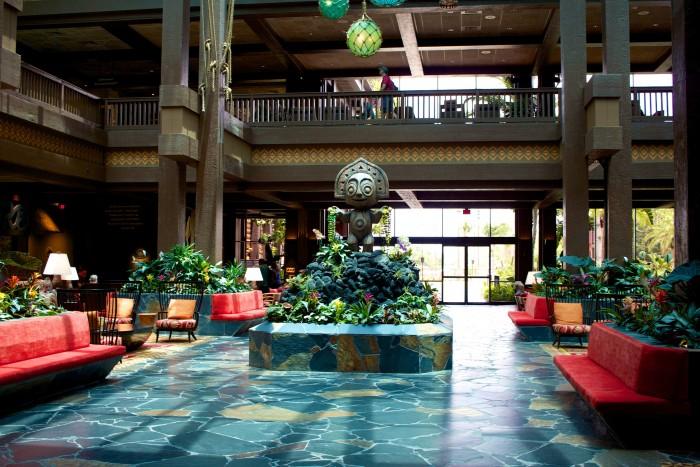 The Polynesian's new-ish lobby