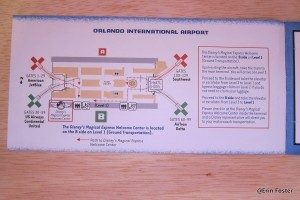 Map of Orlando International.