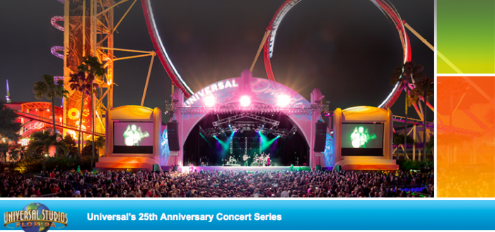 Universal Summer Concert Series performance