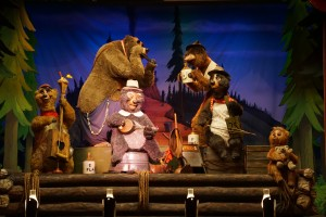 You won't have to wait for the cool A/C in Country Bear Jamboree.