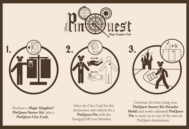 Disney PinQuest