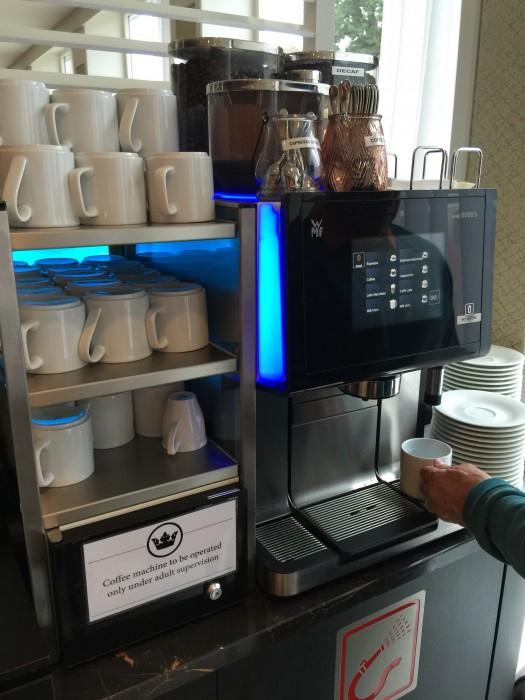 My love, the 24/7 coffee machine.