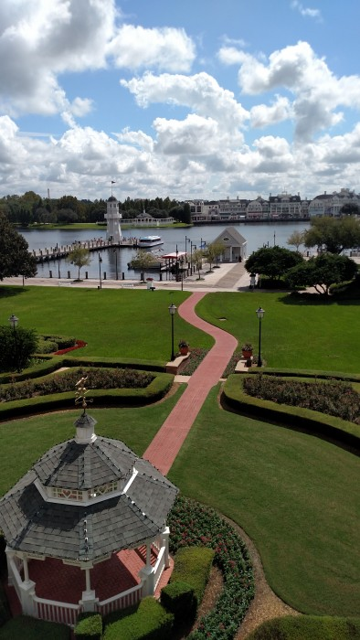 View of the Epcot Resort Area