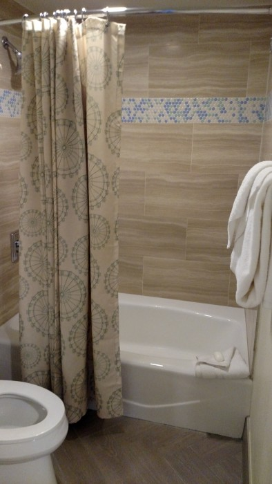 Shower at Disney's Boardwalk Inn