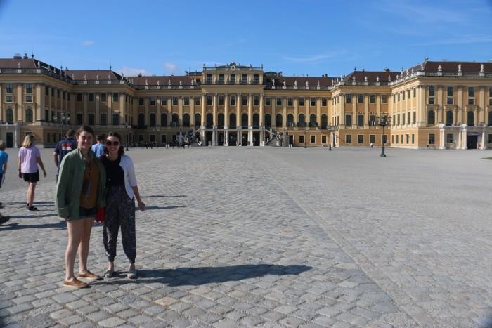 Vienna's Schonbrunn Palace.