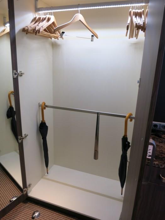 One main closet.