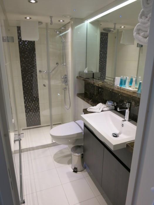 AmaViola bathroom.