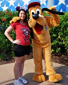 Meeting Pluto at All Star Sports on July 4th