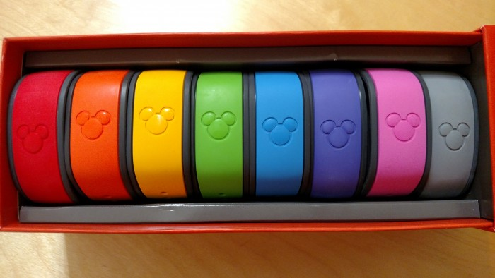 Standard MagicBands free to on-site guests