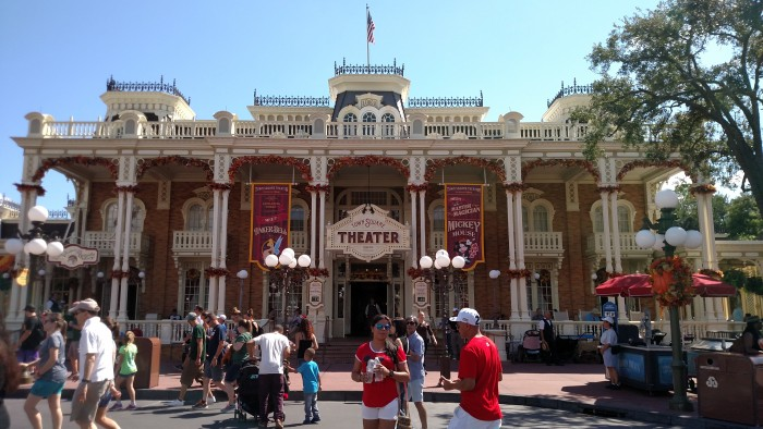 Immediately to the right as you enter the park, this is where you check in for the tour