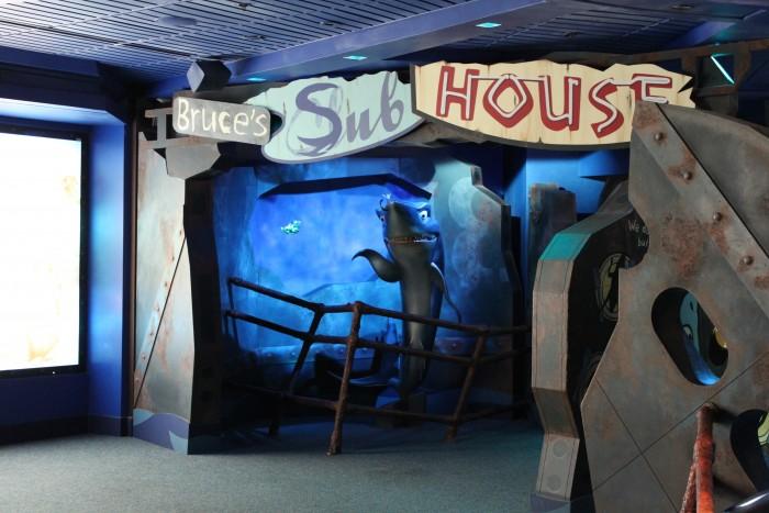 Bruce's Sub House in Sea Base