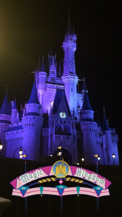 Snapchat Magic Kingdom Filter