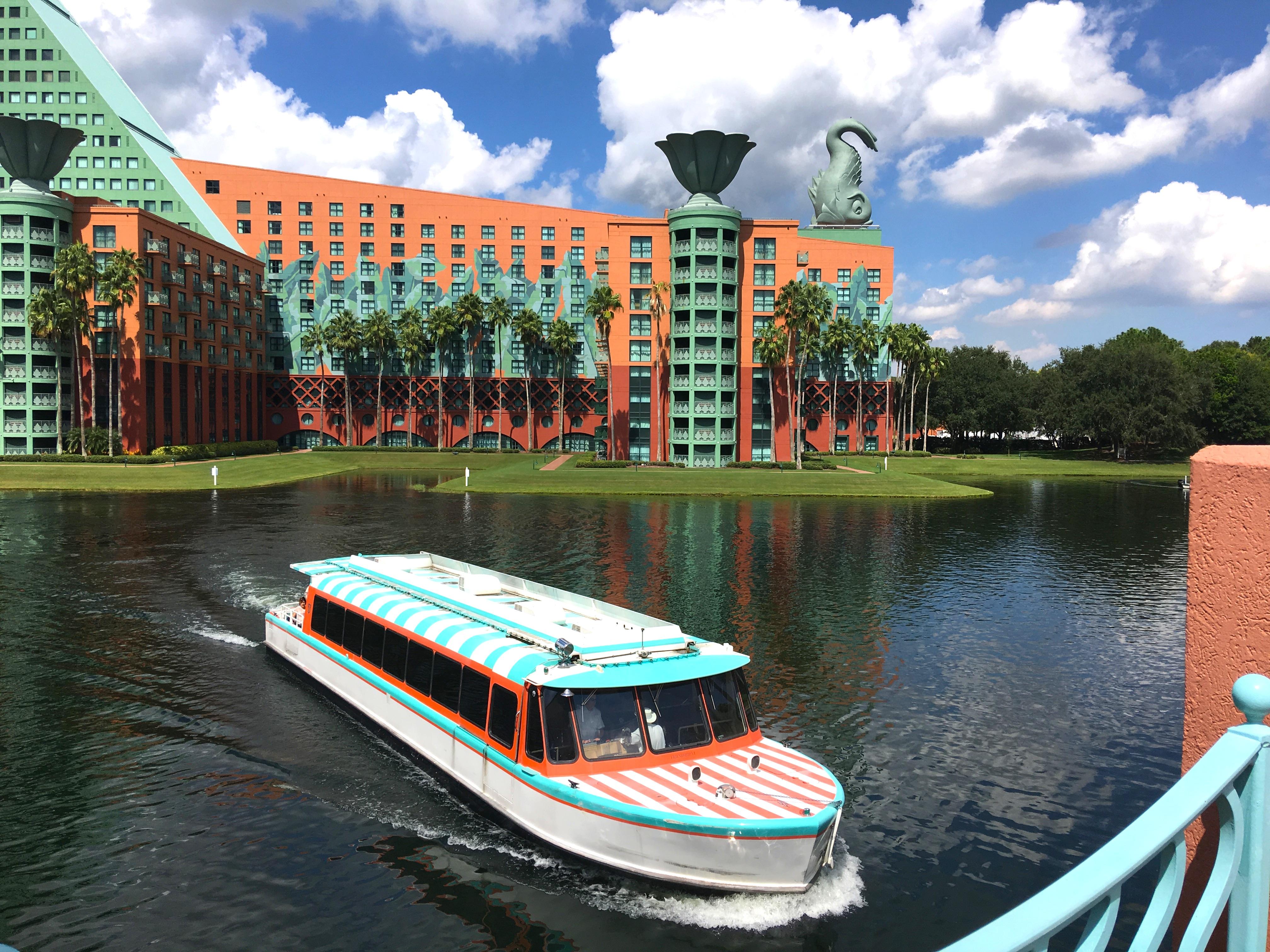 Disney S Boardwalk Just Steps Away From The Swan Friendshipboat