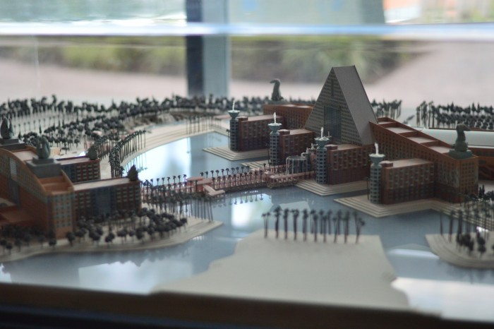 Model of the vast resort - photo by Brandon Glover