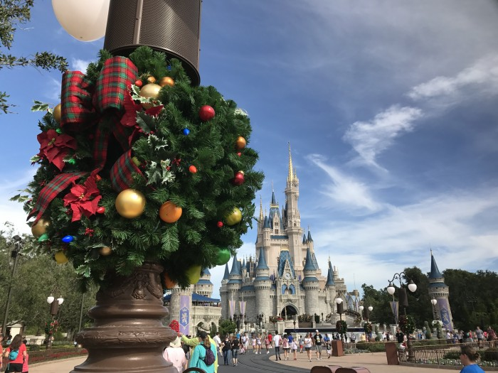in the air theres a feeling of christmas children laughing people passing meeting smile after smile and on every street corner you hear - When Is Disney World Decorated For Christmas