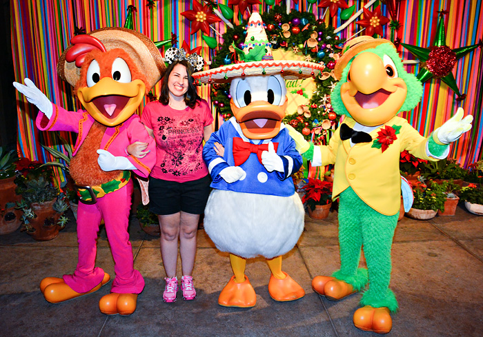 DCA Holiday Character - Viva Navidad Three Caballeros