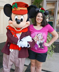 DCA Holiday Character - Buena Vista Street Mickey