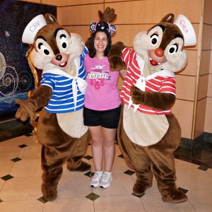 Disney Cruise Line - Chip & Dale