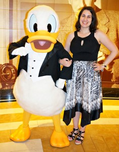 Disney Cruise Line - Donald Duck on Formal Night