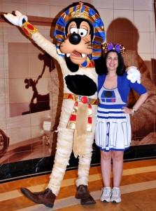 Disney Cruise Line - Goofy on Halloween Night