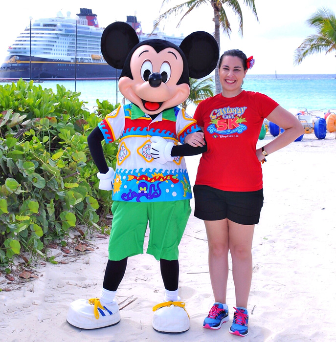 Disney Cruise Line - Mickey on Castaway Cay