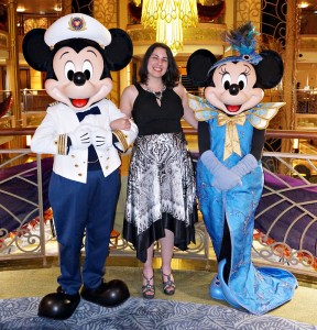 Disney Cruise Line - Mickey and Minnie on Formal Night
