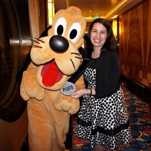 Disney Cruise Line - Pluto on Semi-Formal Night