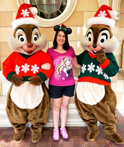 Disneyland Holiday Character - Chip & Dale