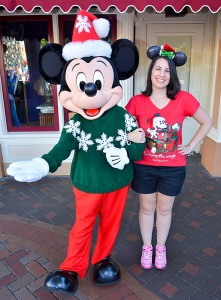 Disneyland Holiday Character - Mickey