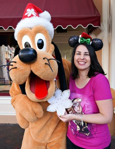 Disneyland Holiday Character - Pluto