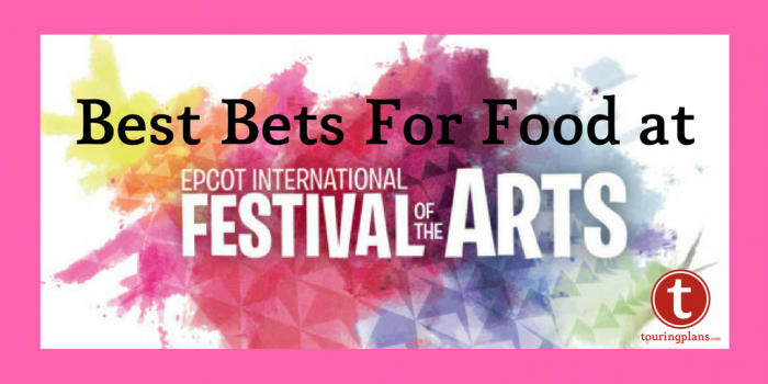 Best Bets for Food at the Epcot Festival of the Arts