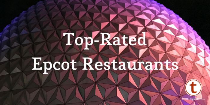 Top-rated Epcot restaurants