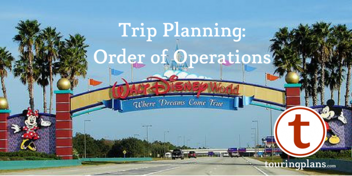 Walt Disney World Trip Planning
