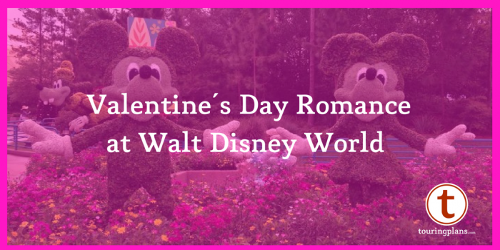 Valentine's Day Romance at Walt Disney World