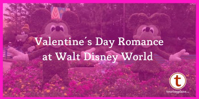 Valentine's Day Romance at Walt Disney World