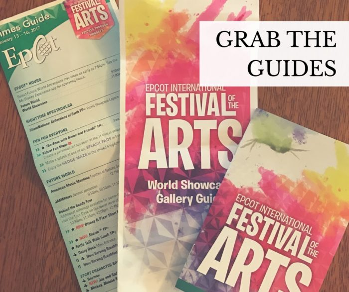 epcot art festival tips