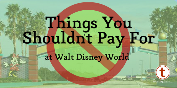 save money at Disney by avoiding these common purchases