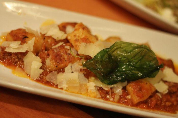 House-made potato cheese gnocchi
