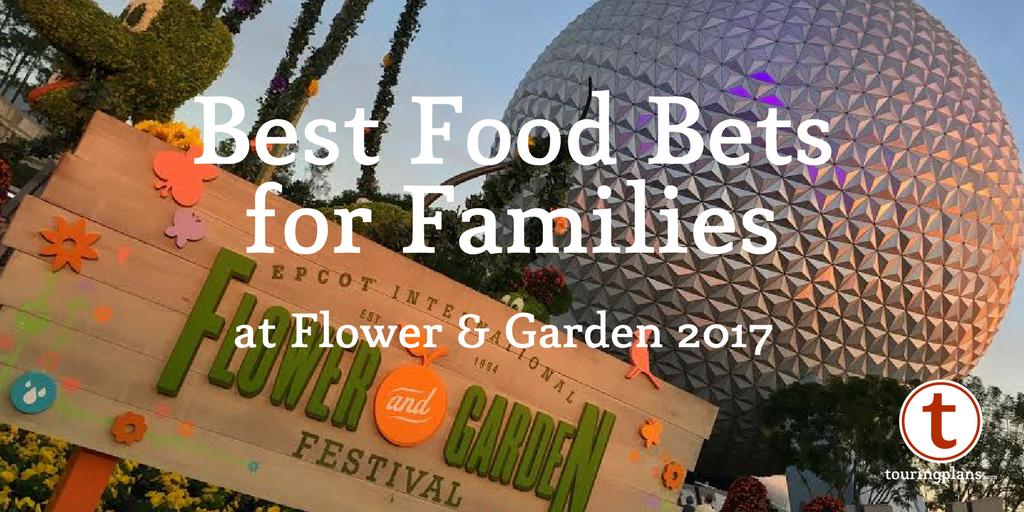 Family friendly flower and garden festival favorites - Epcot flower and garden 2017 menu ...