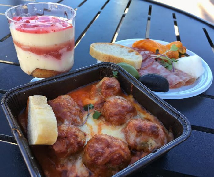 Primavera Kitchen: Strawberry tiramisu (new), Meatball parmigiana (new), Antipasto plate (new).
