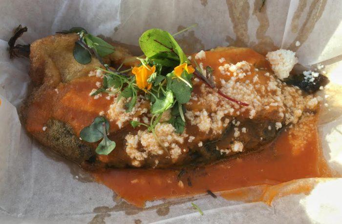 Jardin de Fiesta's chile relleno