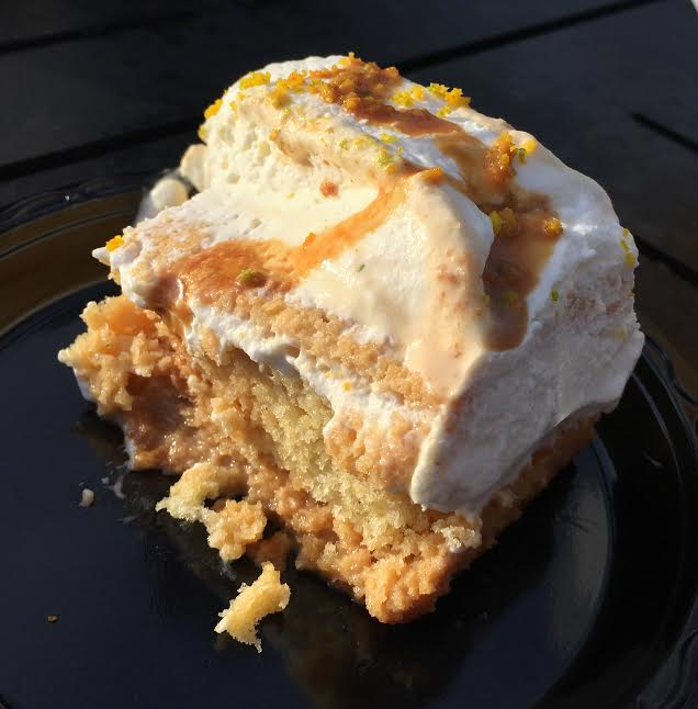 Jardin de Fiesta's tres leches cake