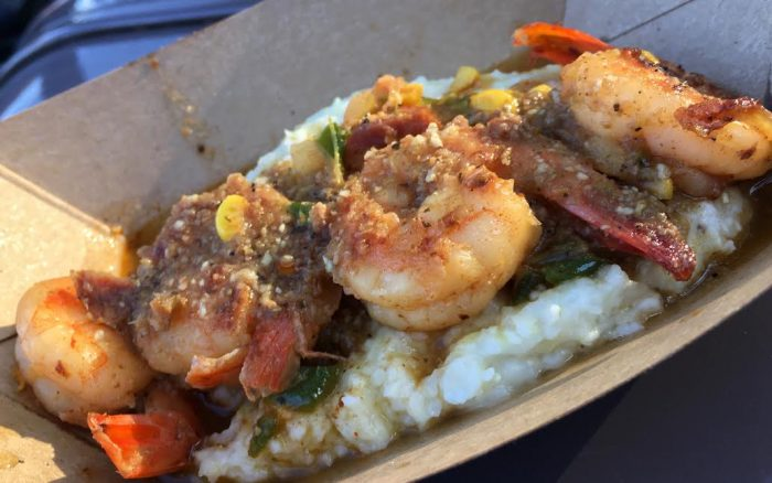 Florida Fresh's shrimp and grits